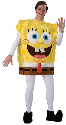 Deluxe Adult Spongebob Halloween Costume