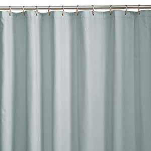 Maytex Microfiber Shower Curtain Liner Blue Maytex Fabric Shower Curtain Liner