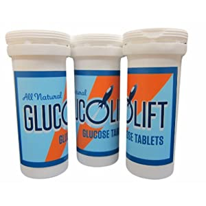 GlucoLift Travel Tube 3-pack (empty)