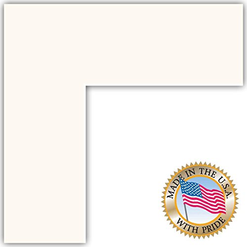 24x35 Smooth White Custom Mat for Picture Frame with 20x31 opening size (24 X 35 Frame compare prices)