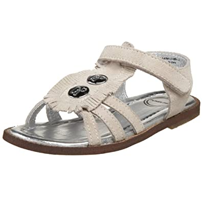 Pliner Jr Toddler Pl25-Sara Sandal,Beige,27 EU (10-10.5 M US Toddler)