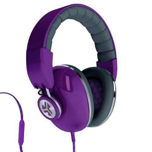 Jlab Bombora Over The Ear Headphones With Universal Mic - Prism Purple / Grigio Gray