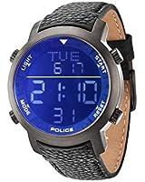 Police - PL.12898JSU/02C - Montre Homme - Quartz Digitale - Bracelet Cuir violet