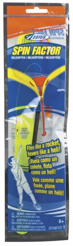 Estes Spin Factor Rubber Band Helicopter - 1