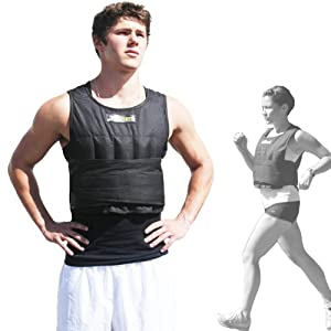 ZFOsports® - 20LBS -UNISEX- Comfortable Exercise Adjustable Weighted Vest