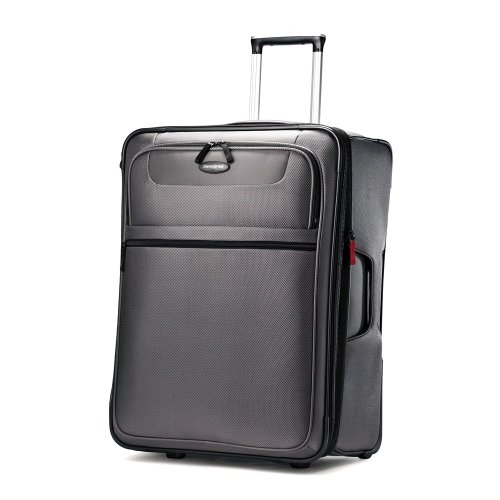 Samsonite Lift Upright 24  Inch Expandable Wheeled Luggage, Charcoal, One Size top deals