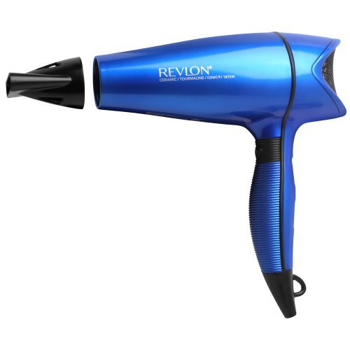 Revlon 1875 W Perfect Heat Shine Boosting Hair Dryer, Aqua Blue