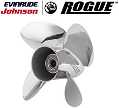 Johnson Evinrude E-Tec Rogue 4 Blade Prop Propeller 13quot x 19quot 0763967