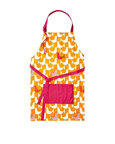 Happy Chic by Jonathan Adler Katie Apron, Pink/Orange/White