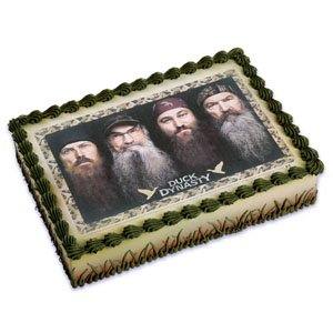 Duck Dynasty Edible Cake Topper