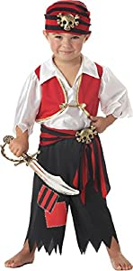Ahoy Matey! Pirate Costume - Toddler (4-6)