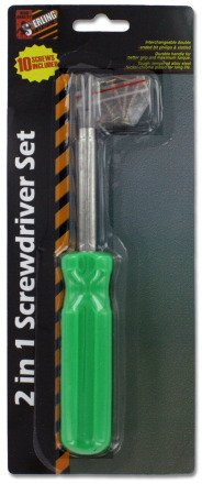 Sterling 2 In 1 Screwdriver Set, Pack Of 24