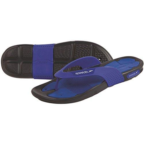 Speedo Pool Surfer Thg Am Sandali da Spiaggia, Blue Peri/Grigio Ossido, 11
