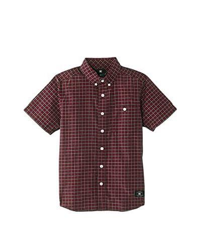 DC Clothing Camicia Uomo [Rosso Scuro]