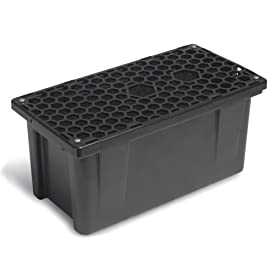 Sunterra 337106 Prefilter Box for 500 Gallon Pond Capacity, Black