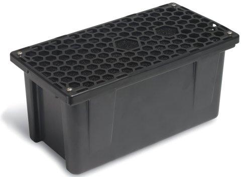 Sunterra 337106 Prefilter Box for 500 Gallon Pond Capacity, Black