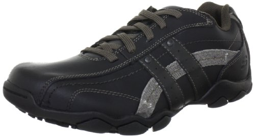 Skechers Men's Diameter - Blake Black Lace Up 63385 12 UK