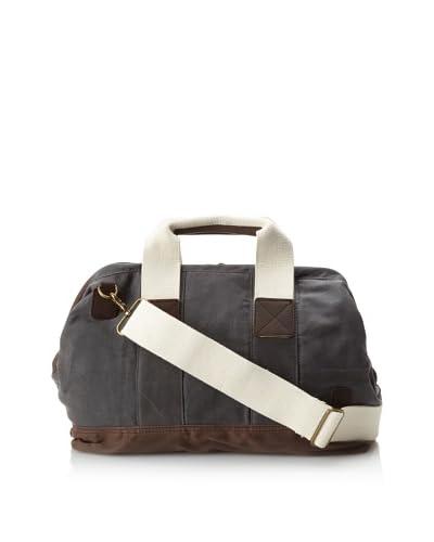 J.Campbell Los Angeles Men's Doctor Bag  [Olive/Brown]