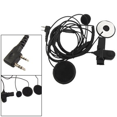 Motorcycle Helmet Earphone Microphone Headset For Kenwood Radio