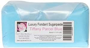 Cupcake World Fondant Sugarpaste Cake Icing Gift Parcel Tiffany Blue 1 Kg