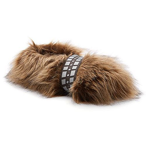 Star Wars Wookie Feet Mens Chewbacca Slippers (12-13)