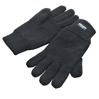 Result Unisex Thinsulate gefütterte Thermal Handschuhe (40g 3M) (L-XL) (Kohlegrau)