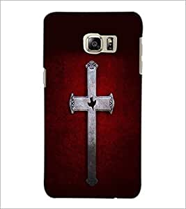 PrintDhaba Cross D-2050 Back Case Cover for SAMSUNG GALAXY NOTE 5 (Multi-Coloured)