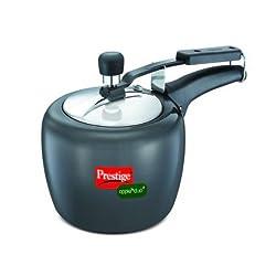Prestige Apple Duo Plus Pressure Cooker, 3 Litres