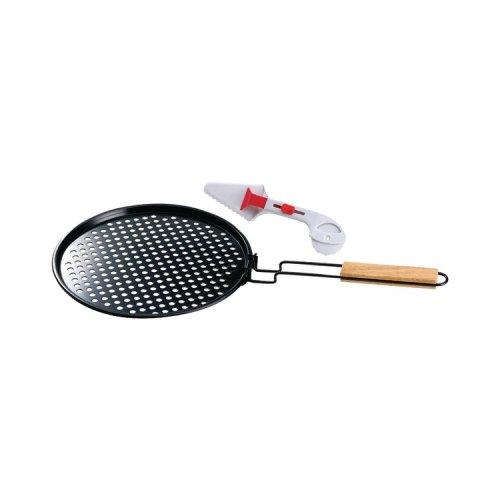 Jaybrake Hw5287 Chefs Basics Select Hw5287 BBQ Non-Stick Pizza Topper & Server