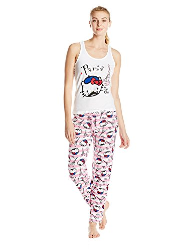 Hello-Kitty-Juniors-Addicted-To-Travel-Pajama-Set