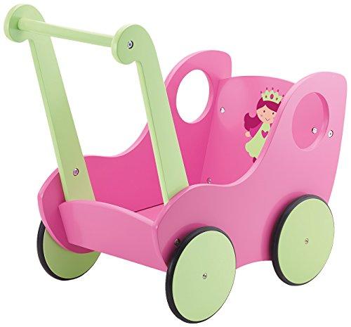 Bayer Design 52107 - Lauflernwagen circa 54 x 31 x 49 cm, pink/grün