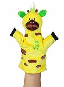 Manhattan Toy Jungle Snugglies Gino Giraffe Hand Puppet