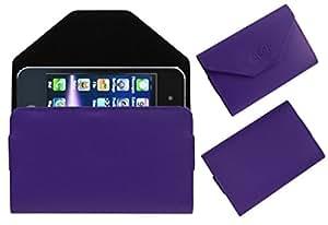 Acm Premium Pouch Case For Fujezone X88 Flip Flap Cover Holder Purple