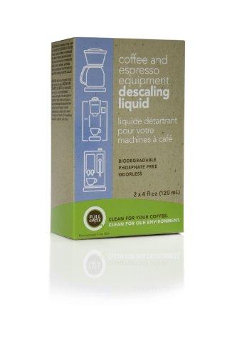 Urnex Full Circle Biodegradable Coffee and Espresso Equipment Descaling Liquid, White