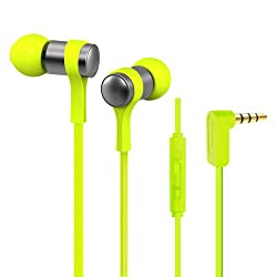 Jabees Stereo Earphone WE202M Candy music Earphone Green