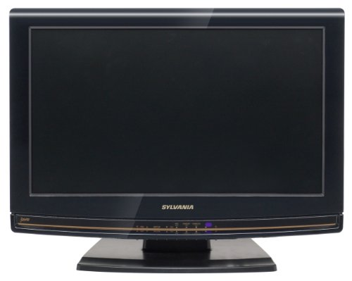 Sylvania LD190SS1 19-Inch 720p LCD HDTV with Built in DVD Player, Black