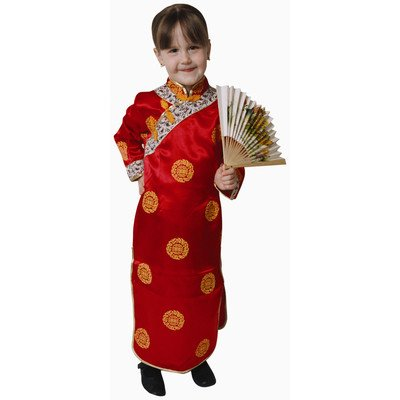 Deluxe Chinese Girl Costume Set