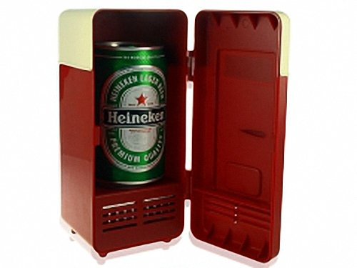 Usb Powered Retro Red Refrigerator - Big Chill Retro Refrigerator By Psk front-117219