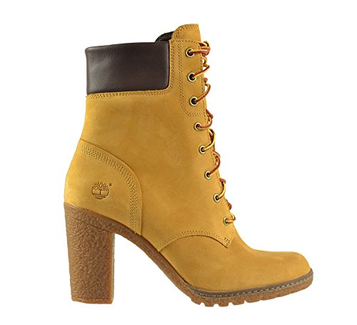 """Image of Timberland Women's Earthkeepers  Glancy 6"""" Boot Wheat Nubuck 11 D - Wide"""