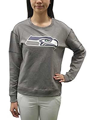 Womens SEATTLE SEAHAWKS Athletic Pullover Sweatshirt