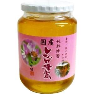 【クリックで詳細表示】はちみつ専門店【かの蜂】 国産特上レンゲ蜂蜜1000g: スポーツ&アウトドア