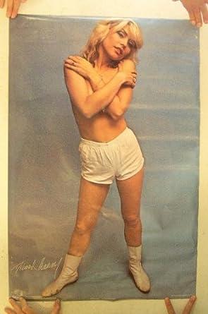 Deborah Harry Poster Blondie Debbie Vintage Almost Naked at Amazon's