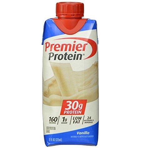 Premier Nutrition High Protein Shake, Vanilla,  11