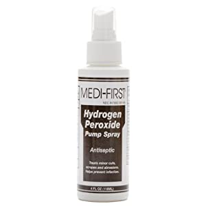 Hydrogen Peroxide Antiseptic Spray 4 Oz