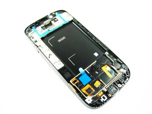 For Samsung Galaxy S3 Siii Gt-I9300 Grey ~ Amoled Lcd Touch Screen Display+Frame ~ Mobile Phone Repair Part Replacement
