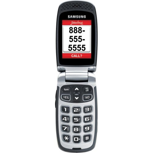 Jitterbug Plus Cell Phone (Silver)