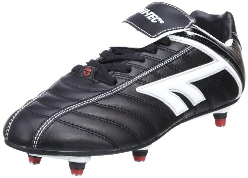 Hi-Tec Men's League Si Black/White/Red Football Boot A001381/021/01 9 UK