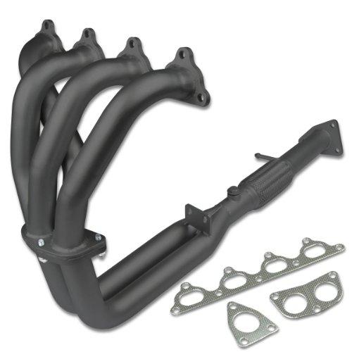 Stainless Steel Exhaust Header Manifold For 07-08 Hyundai Tiburon 2.7L V6 DOHC