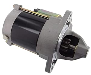 This is a Starter Fits Cub Cadet Utility Vehicles Big Country 4x2 Kawasaki 9.5HP Engine 2003-2005, Kawasaki Utility Vehicles KAF300 Mule 500 A1, KAF300 Mule 500 B1-B2, KAF300 Mule 520 D1-D2, KAF300 Mule 550 C1-C7 by Discount Starter and Alternator