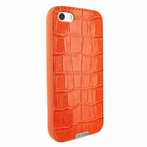 Best Price Apple iPhone 5 / 5S Piel Frama Orange Crocodile FramaGrip Leather Cover